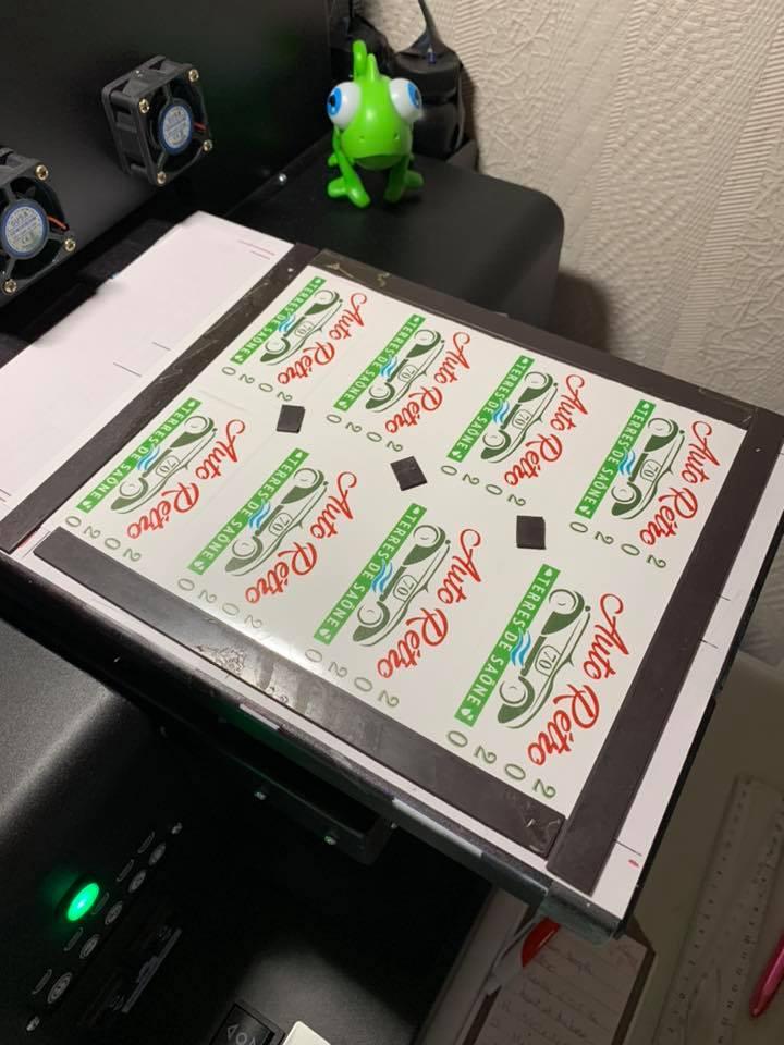 autocollant original stickers imprime personnalise personalisink