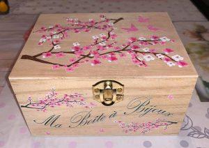 boite bois imprimée personnalisée