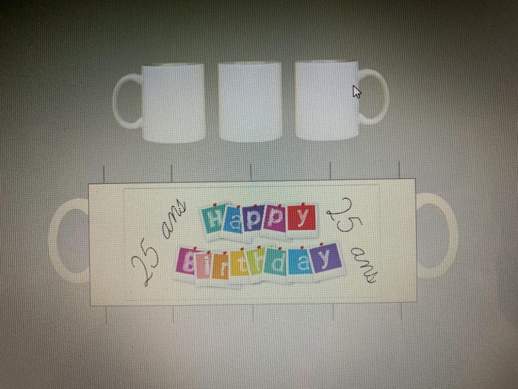 personnalisation transfert Mug tasse personnalise cadeau anniversaire